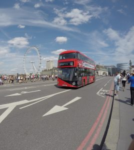 The Westminster Bridge is a very romantic place in London!