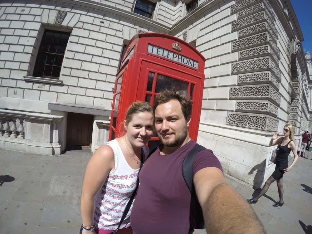 Karolina and Patryk in London