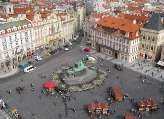 Prague sightseeing in the capital of Czech Republic