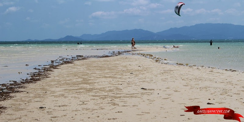 Beach on Koh Phangan island in Thailand