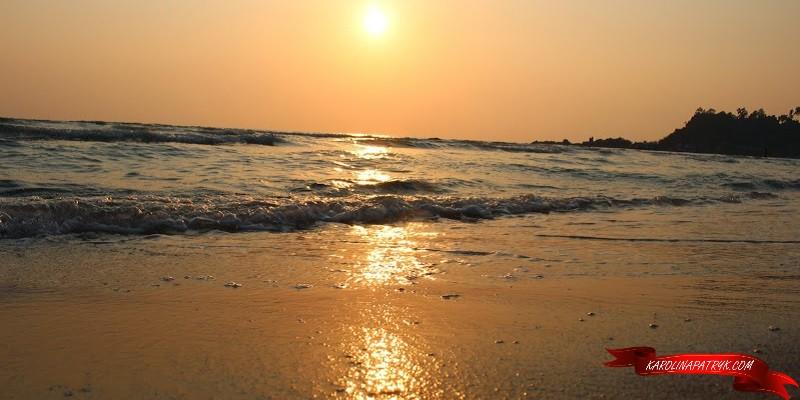 Sunset on Koh Chang island