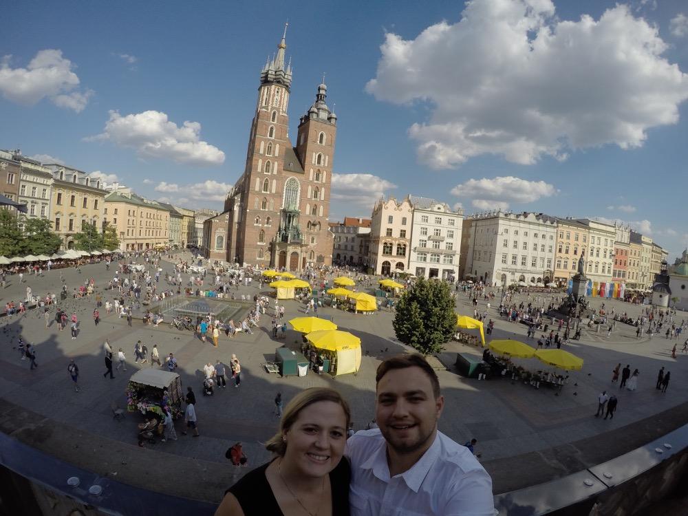 Karolina and Patryk in krakow
