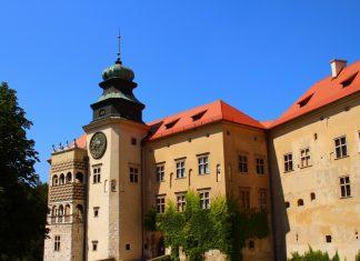 Castle in Pieskowa Skala -hidden gem of Poland