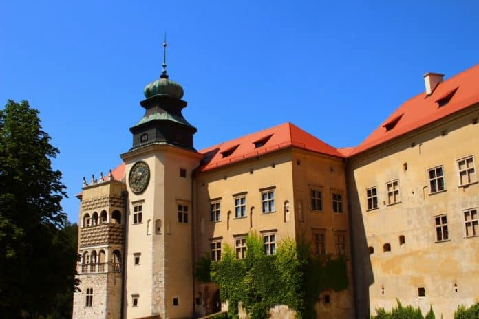 Castle in Pieskowa Skala -hidden gem of Poland