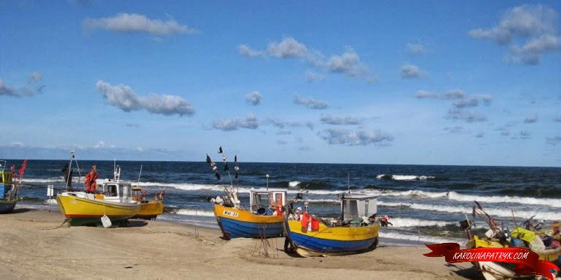 Sailboats at Baltic sea, Poland