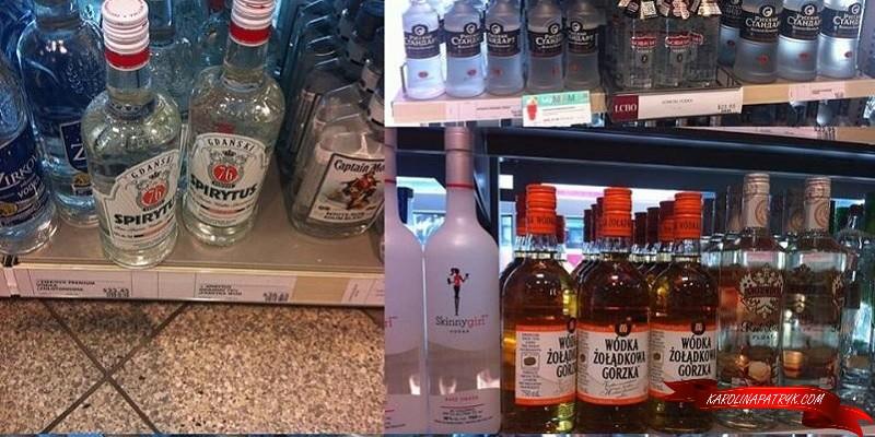 Traditional Polish liquors