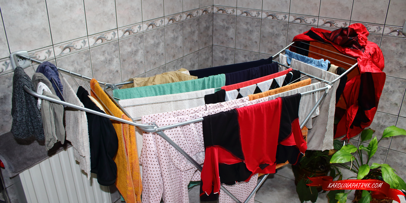 Traditional old clothes dryer