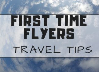 Travel Tips for First Time Flyers