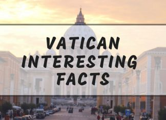 Intersting Vatican facts