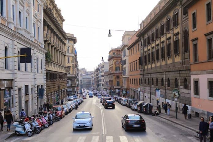 From Ciampino airport to Vatican city