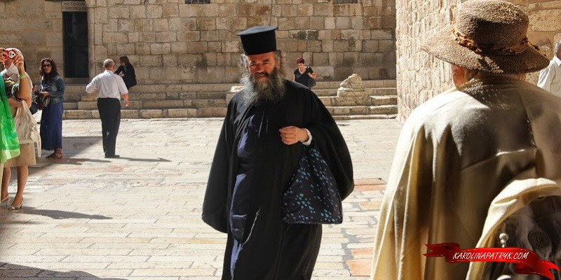 Christian holy land and jewish priest
