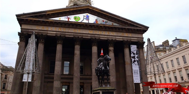 Gallery of Modern art in Glasgow
