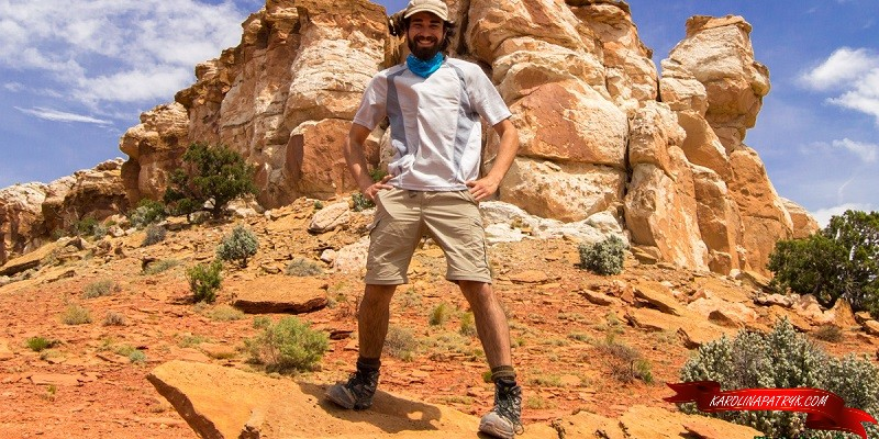 TJ WanderingStray in Capitol Reef National Park says how you can start earning money for travels
