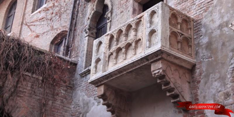 Juilett's balcony in Verona