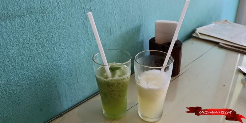 Mint & lemon shake in Thailand