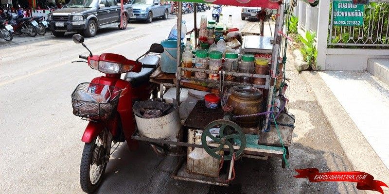 Food motorbike in Chiang Mai