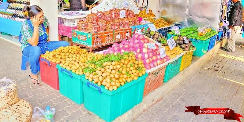 Fresh fruits in Thailand