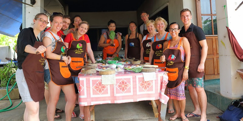 Our amazing cooking group