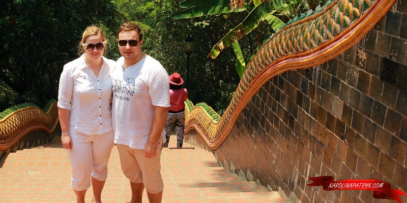 Karolina&Patryk in doi suthep temple