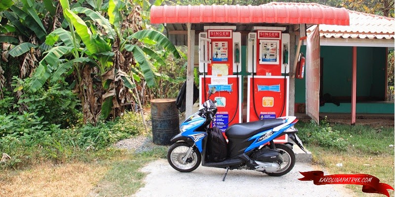 Singer gas machine in Thailand