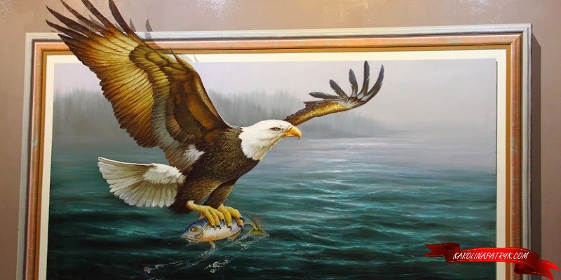Eagle in 3D Museum
