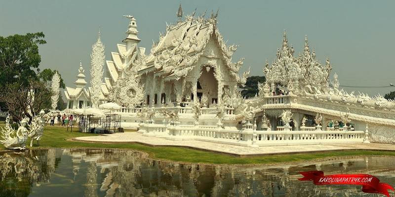 The white Temple in Thailand