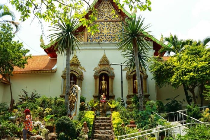 Doi suthep temple from Chiang Mai