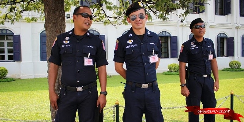 Police Thailand in Pattaya