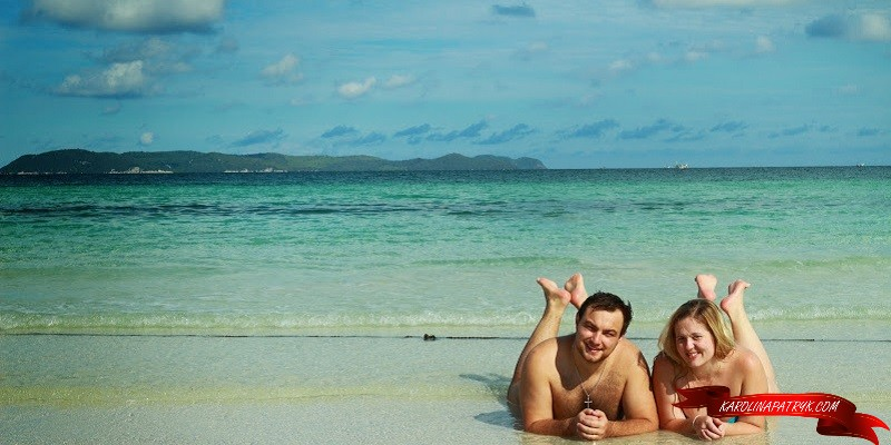 Karolina&Patryk at the beach in Thailand