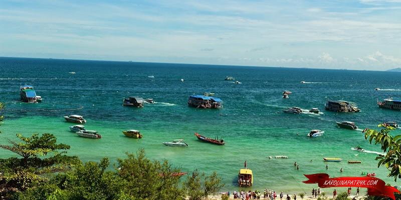Water sports at Koh Larn island