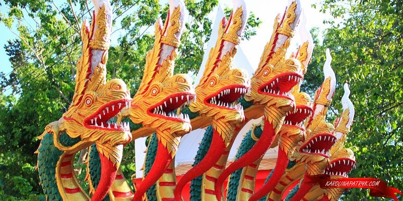 Dragons at Big Buddha temple in Pattaya