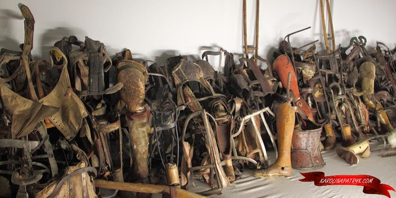 prosthesis prisoners Auschwitz concentration camp2