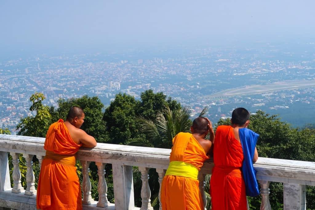 doi suthep temple viewpoint