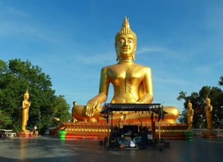 Big Buddha temple in Pattaya