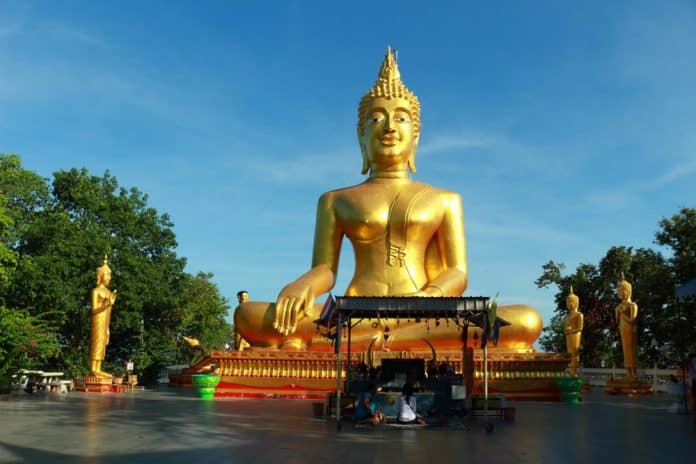 Big Buddha temple in Pattaya