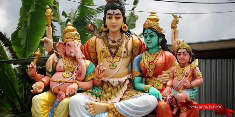 Hindu statues in Malaysia