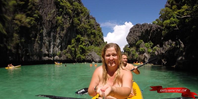 Canoeing at El Nido