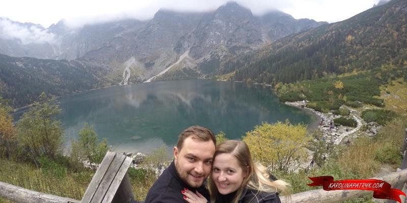 Karolina and Patryk at Morskie Oko lake