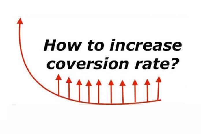 How to increase conversion rate?