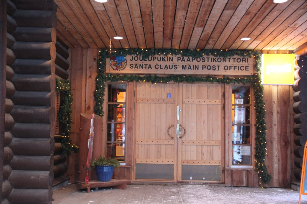 Santa Claus Post Office in Rovaniemi