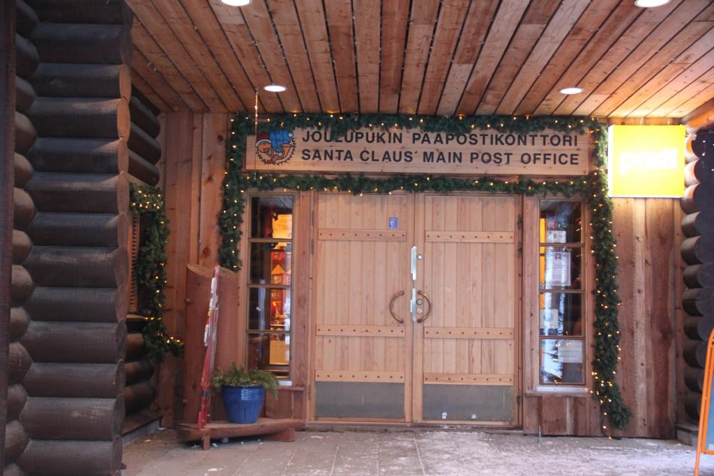 Santa Claus Post Office in Rovaniemi