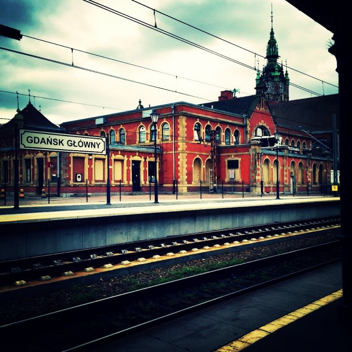 Railway station in Gdansk