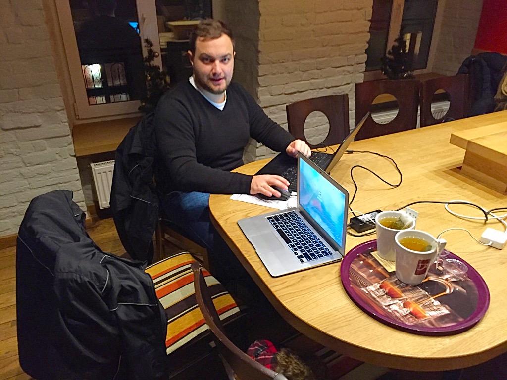 Kredens Cafe in Lviv