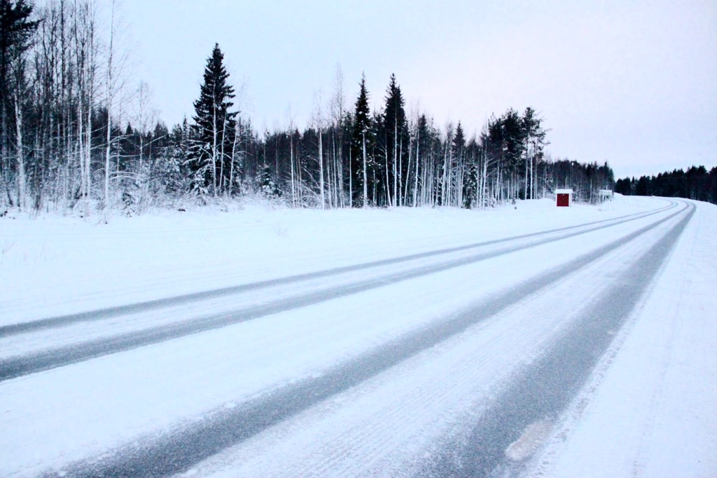 White Christmas in Lapland