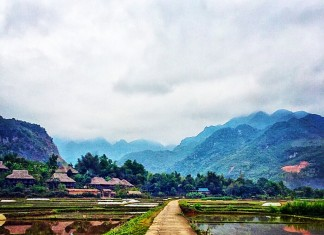 Amazing Mai Chau in Vietnam
