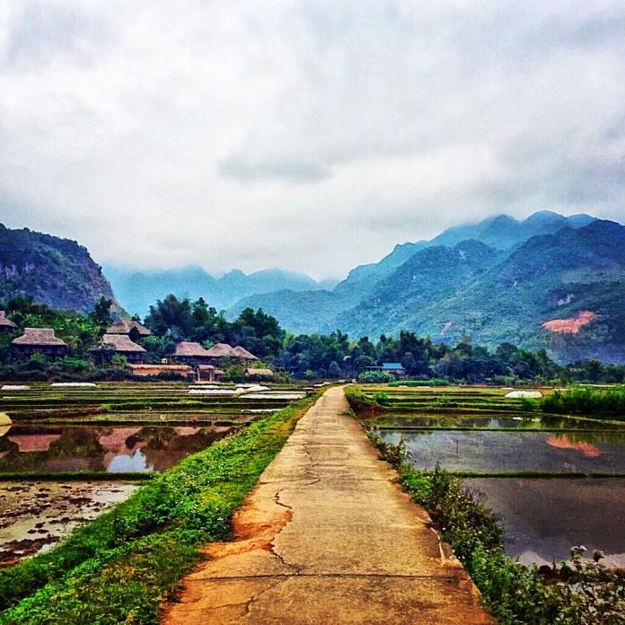 Amazing Mai Chau in Vietnam