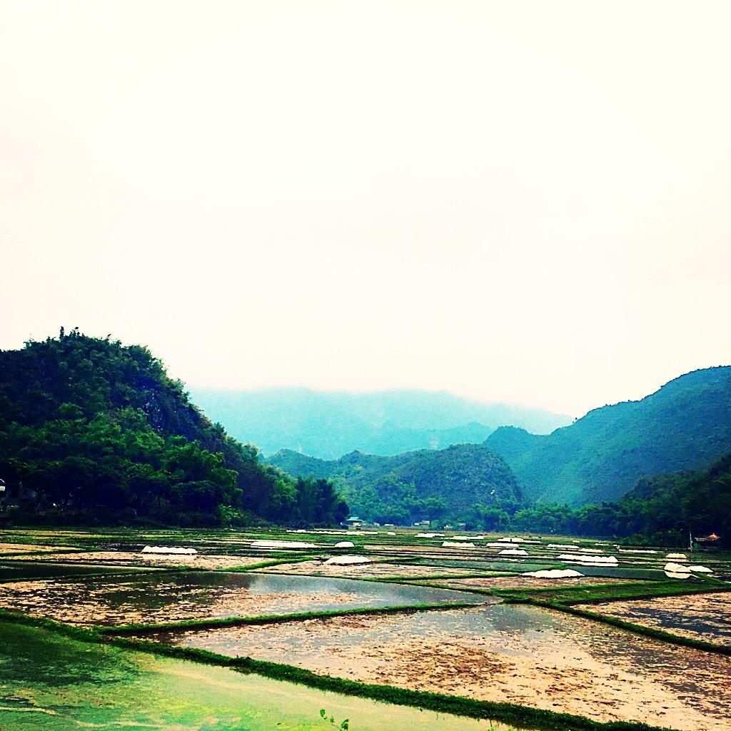 Beautiful Asian mountains