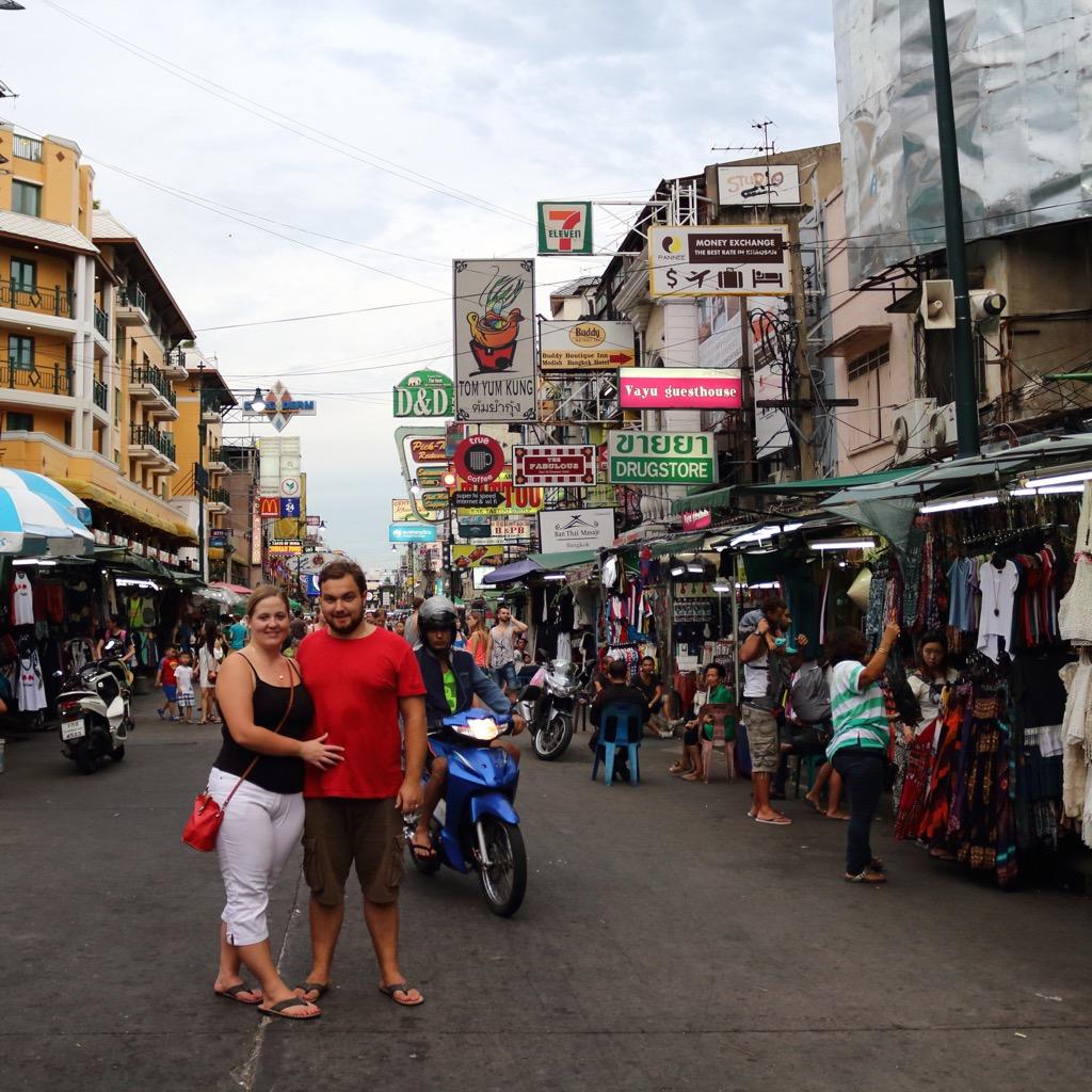 Khao San Road 2 days in Bangkok