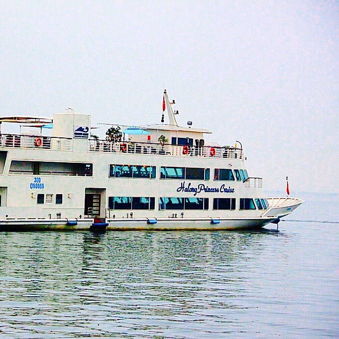 Halong Princess cruise ship