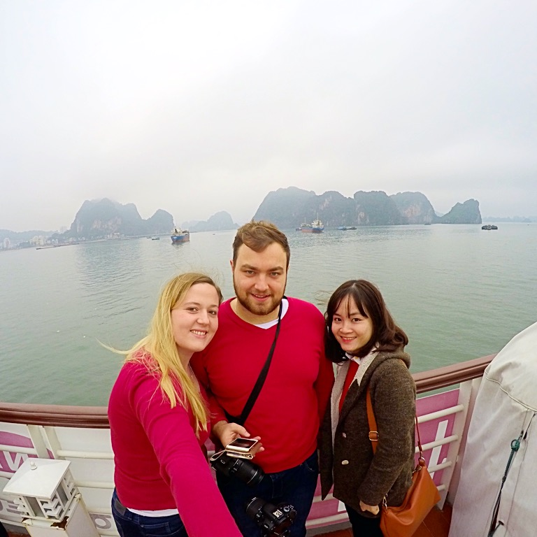 Best guide in Halong Bay